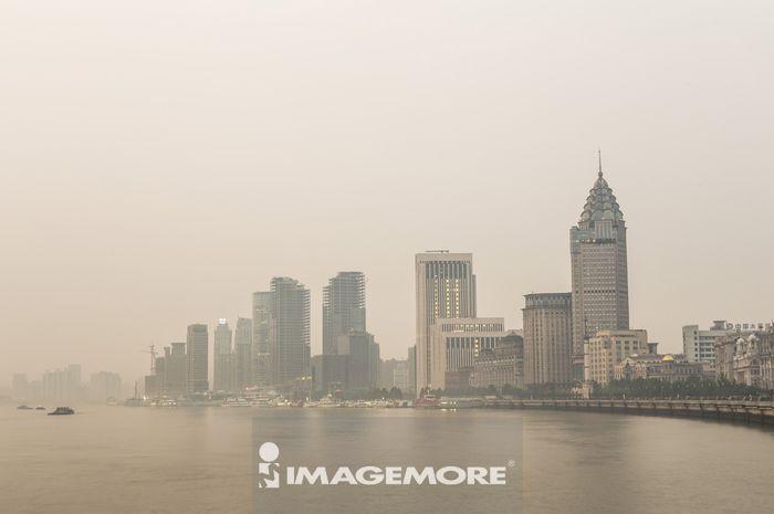 上海,中国,黄浦江,