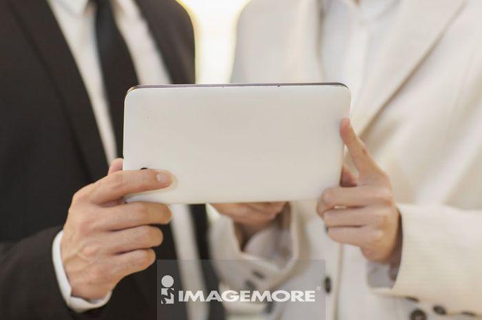 商业人物,平板电脑,