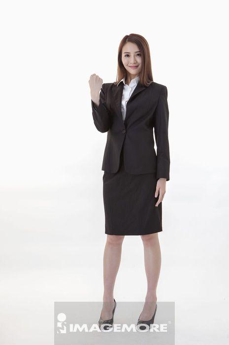 商业人士,商务人士,工薪阶层,上班族,直图,站着,全身,看,正面,肖像,握