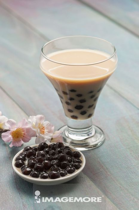 珍珠奶茶,波霸奶茶,饮料,