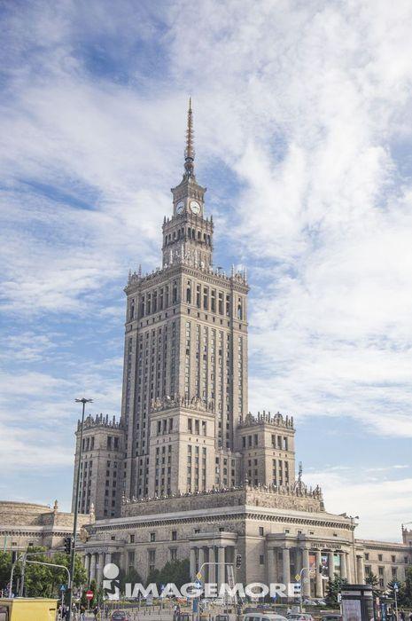波兰,欧洲,华沙科学文化宫,