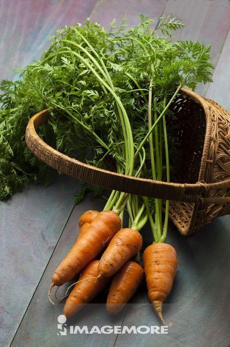 胡萝卜,蔬菜,