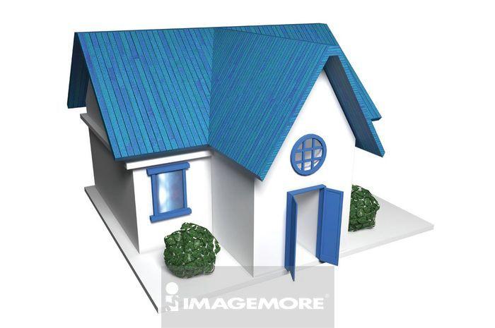 三维图形,房子,
