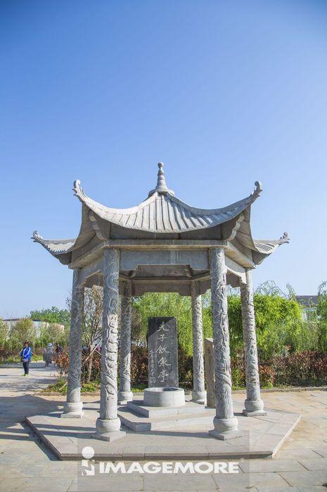 河南省,中国,亚洲,兰考县,仪封请见书院,封人请见夫子处,