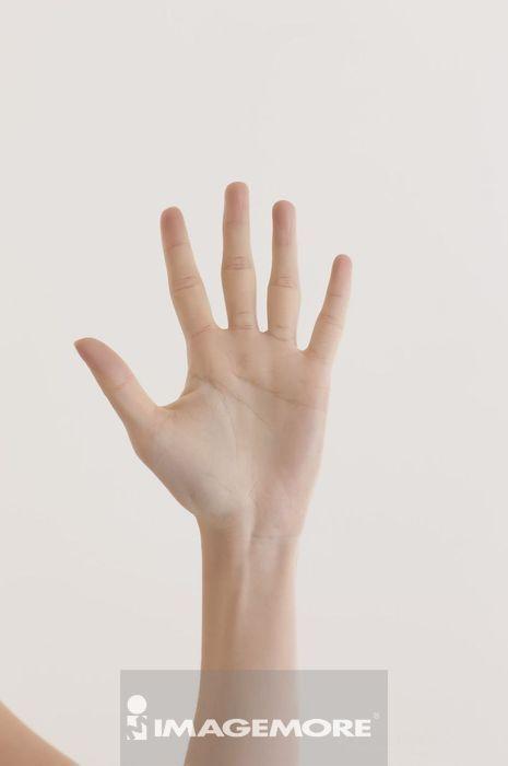 人物手部,作手势