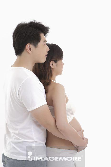 夫妻,孕妇,