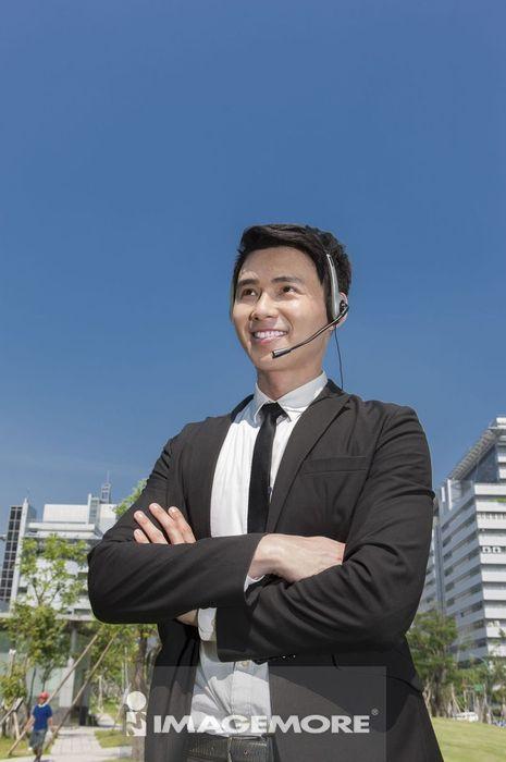 商业人物,办公男性,客户服务,