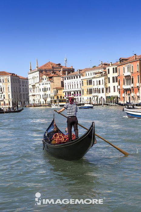 贡多拉,意大利,威尼斯,欧洲,