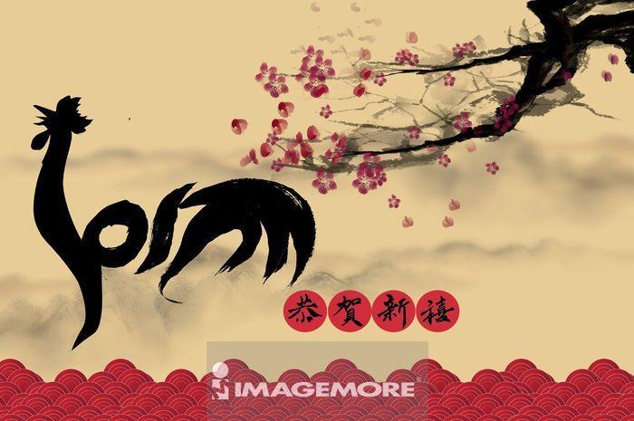春节,新年,鸡年,