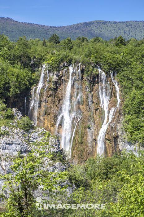 欧洲,克罗地亚,十六湖国家公园,普利特维采湖群国家公园,