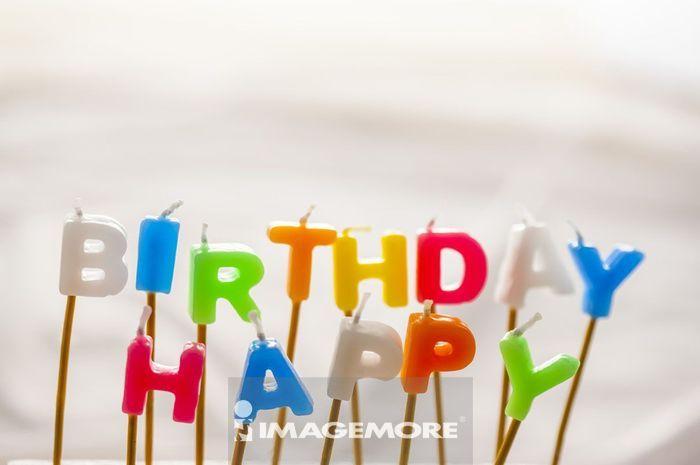 生日,蜡烛,
