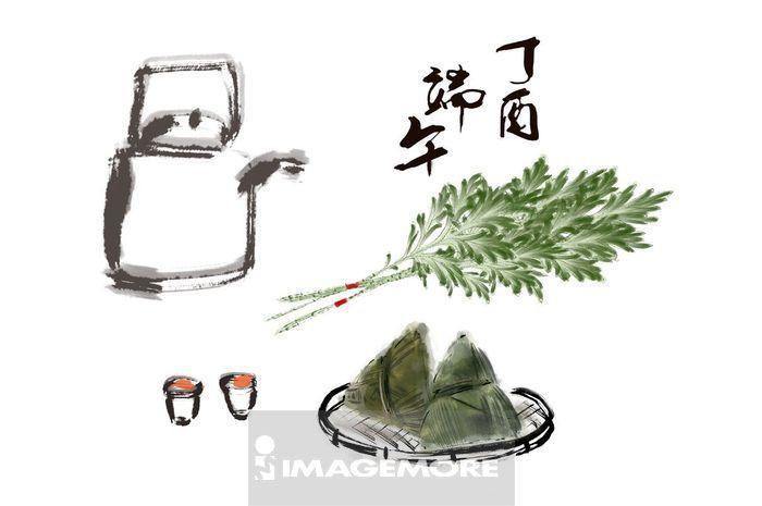 端午节,粽子,雄黄酒,艾草,