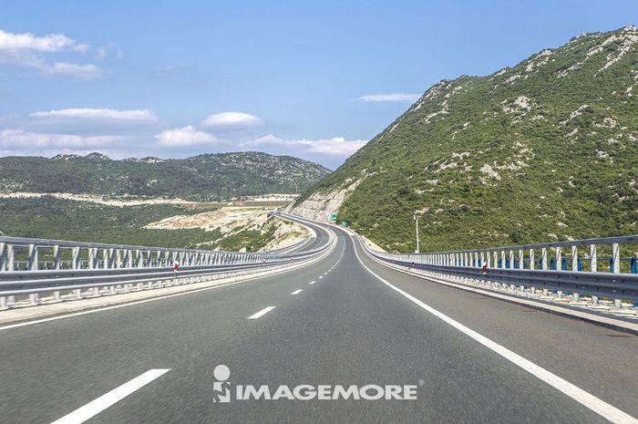 道路,克罗地亚,欧洲,