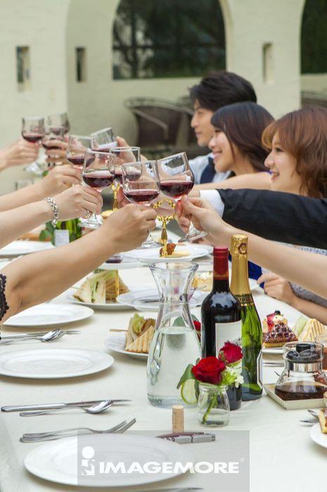宴会,餐桌,