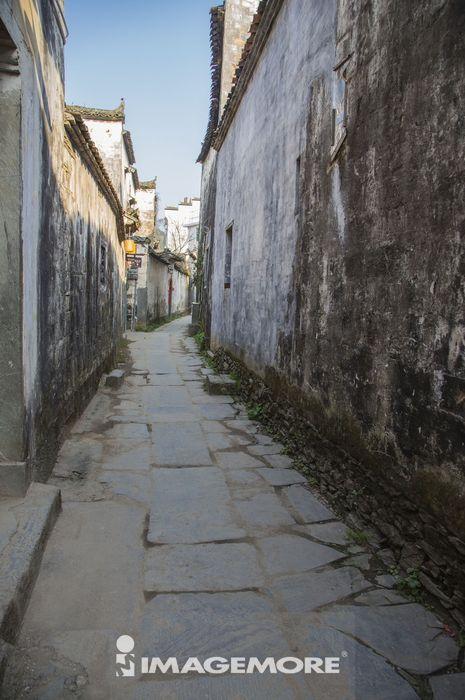 古村落,思溪延村,婺源,江西省,中国,