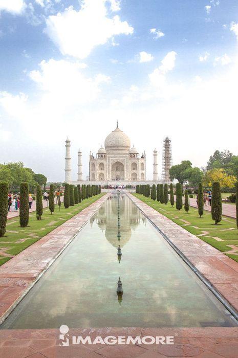 泰姬马哈陵,阿格拉,印度,