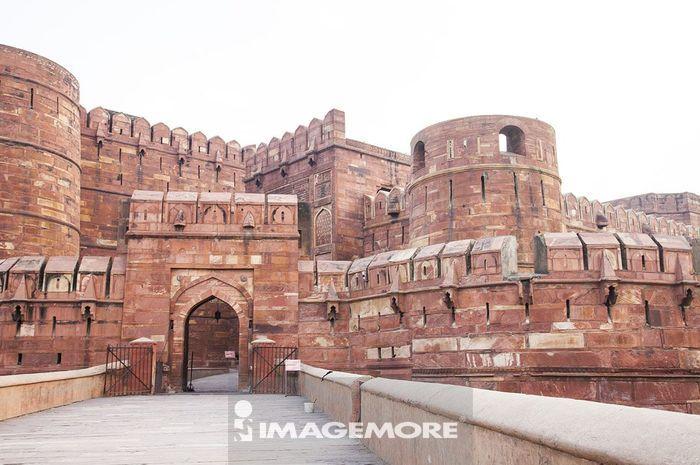 阿格拉古堡,阿格拉,印度,