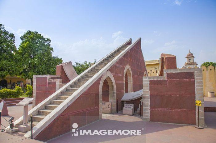 简塔·曼塔天文台,斋浦尔,印度,