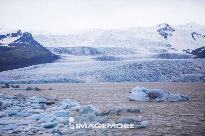 冰河,冰岛,欧洲,