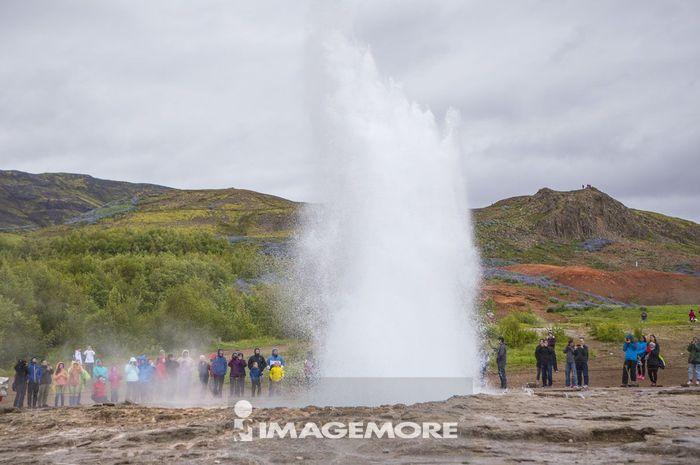 史托克喷泉,史托克间歇泉,冰岛,欧洲,