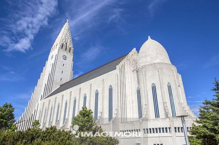 哈尔格林姆教堂,冰岛,欧洲,