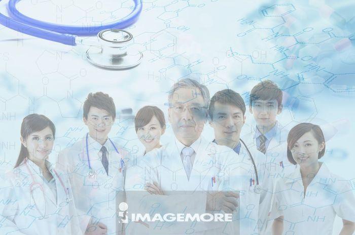 医生和护士组成的医疗团队