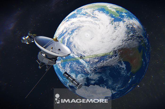 人造卫星与地球