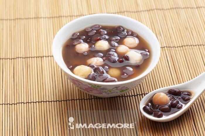 红豆汤与汤圆