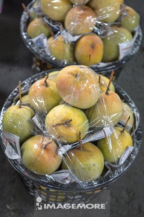 水果,芒果,丰收,