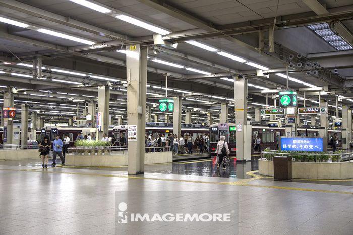 车站,梅田,大阪,日本,亚洲,