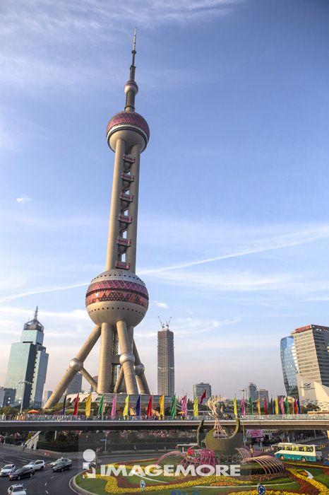 上海东方明珠塔,上海,中国,