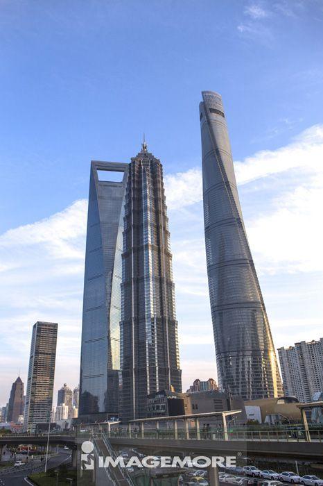 陆家嘴,上海,中国,