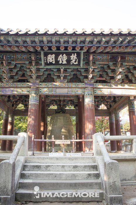 钟楼,佛国寺,庆州市,韩国,