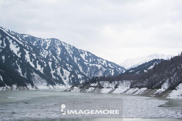日本,黑部,黑部水坝,立山,