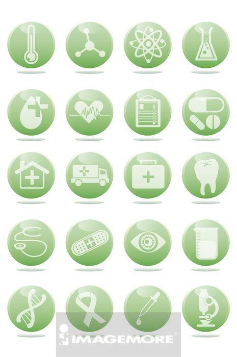 ,图标,医疗和医学,
