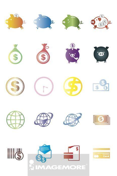 ,图标,商业,商务,金融,