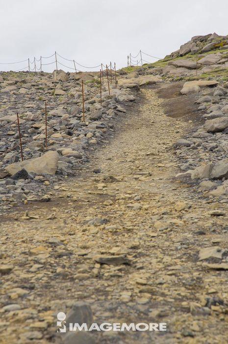 道路,上坡,