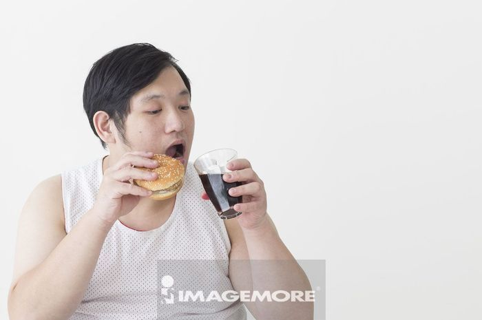 男性,肥胖,饮食过量,