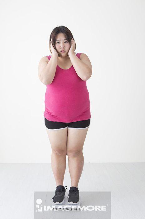 女性,肥胖,测量,体重,