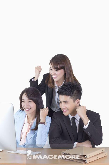 商业人物,团队合作,成功,