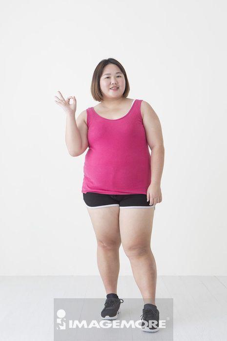 女性,肥胖,运动,同意,
