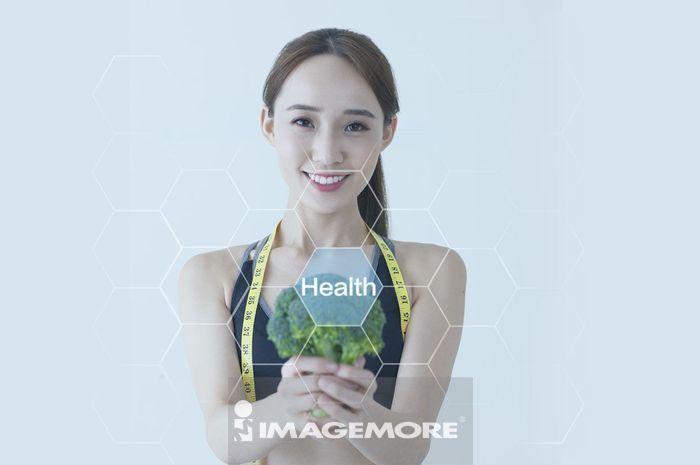 女性,健康饮食,节食减肥,