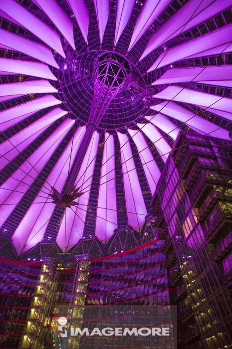 波茨坦广场,柏林,德国,欧洲,屋顶,