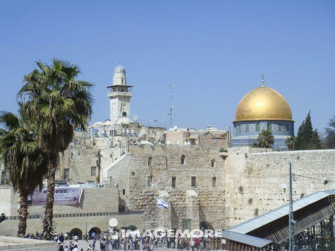 清真寺,耶路撒冷,以色列,中东,亚洲,