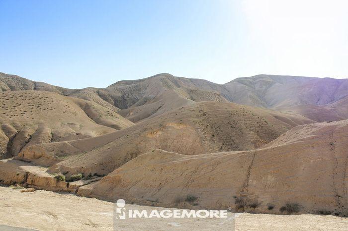 沙漠,以色列,中东,亚洲,