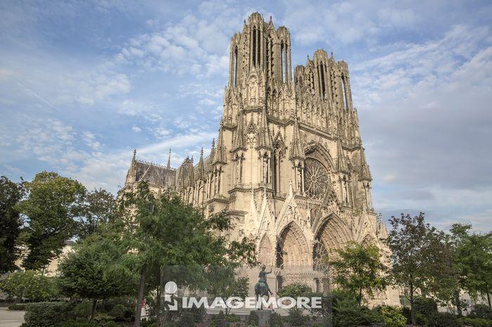 汉斯,法国,欧洲,汉斯主教座堂,汉斯圣母院,教堂,
