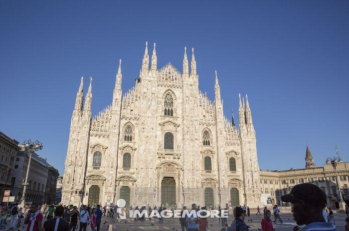 米兰,意大利,欧洲,米兰大教堂,教堂,