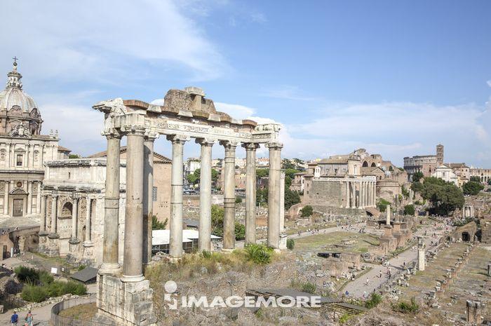 罗马,意大利,欧洲,古罗马广场,