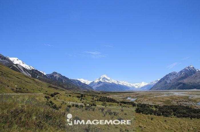新西兰,库克山,冰河船,