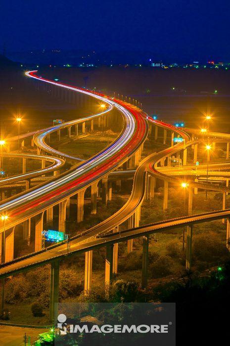 台湾,亚洲,台中,中清交流道,高速公路,